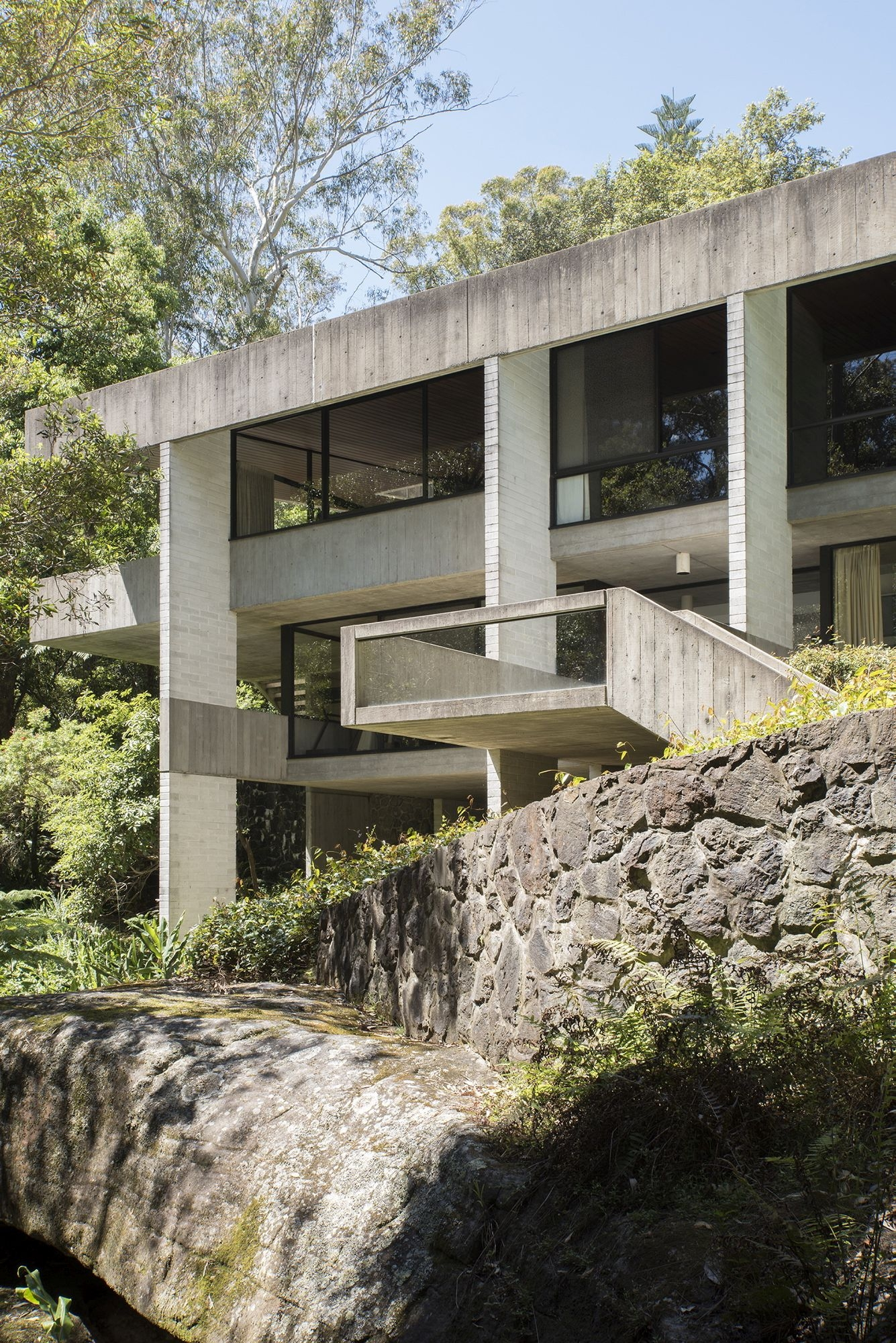 Harry & Penelope Seidler House, Killara NSW