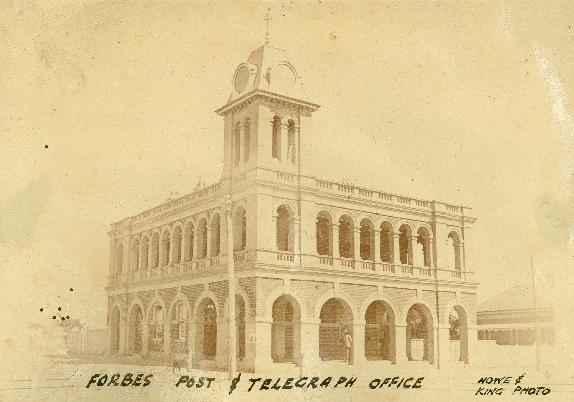 Forbes telegraph office NSW