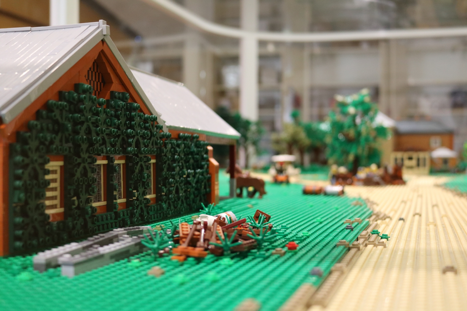 The Stables at Rouse Hill House & Farm in LEGO©