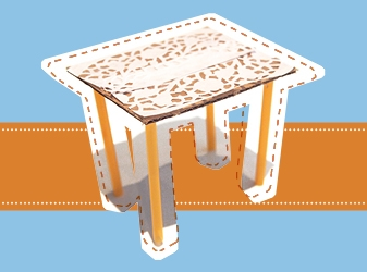 Mini-table craft activity thumb.