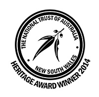 National Trust 2014 heritage awards logo