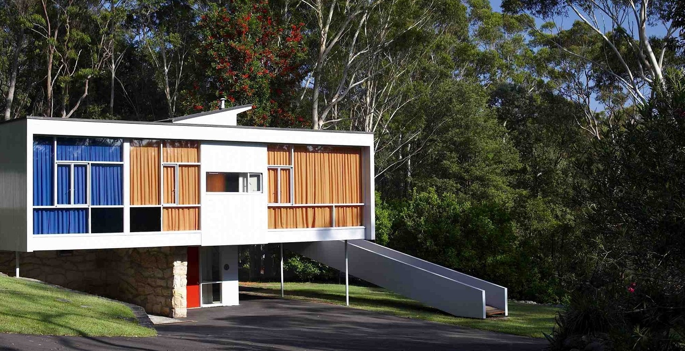 Exterior of Rose Seidler House