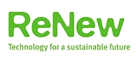 Logo for ReNew