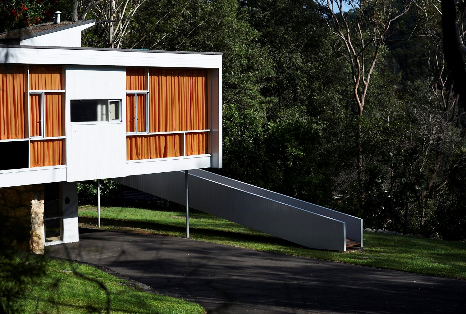 Exterior view of Rose Seidler House