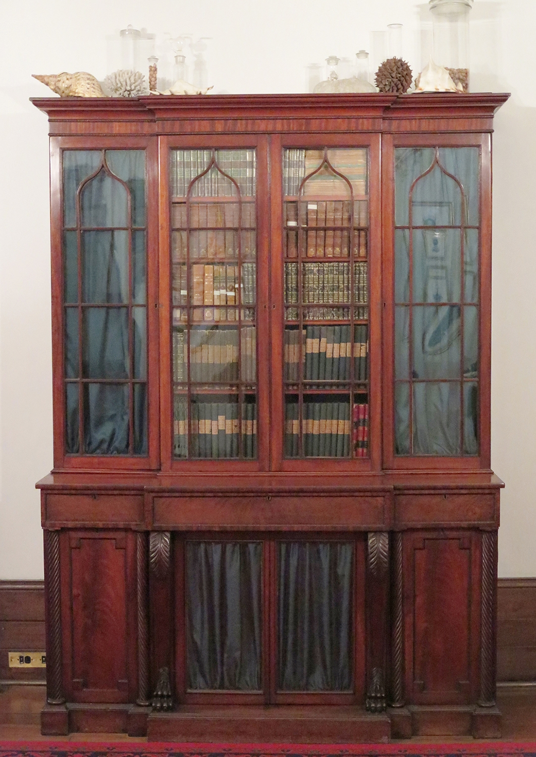 Bookcase at Elizabeth Bay House