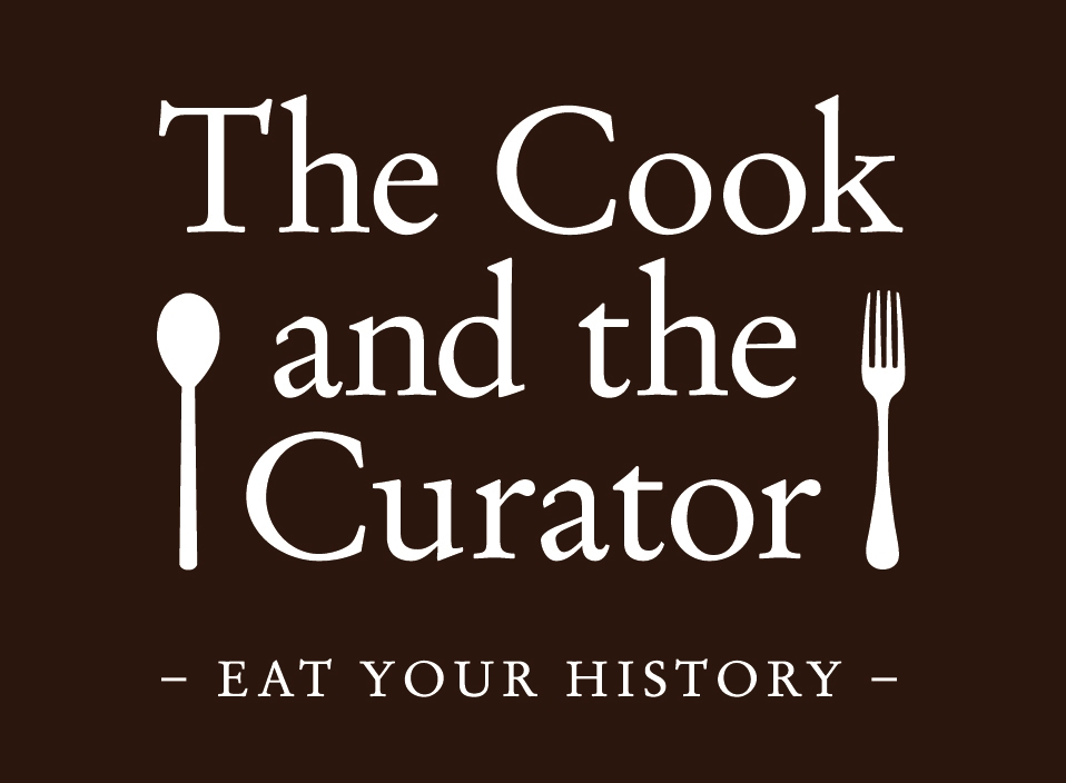 Logo for The Cook and the Curator blog