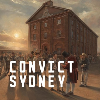 Promotional tile for Convict Sydney