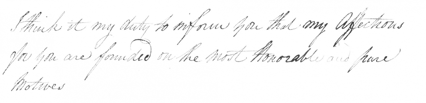 Closeup of part of handwritten document.