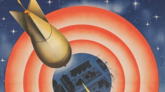Target for to-night poster, designed by John (Jack) Gibson, 1942, National Emergency Services posters, NRS-19792-1 [Document 202] [SR Doc 202].