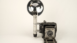 Camera used by New South Wales Police forensic photographers
