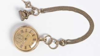 William Charles Wentworth's gold pocket watch, c1823