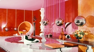'A room for Mary Quant', designed by Marion Best Pty Ltd, 1967.