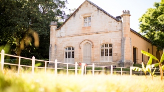 View of Vaucluse House stables