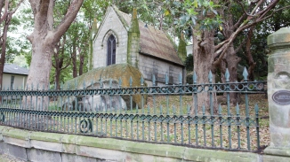 Photo of the Mausoleum, Vaucluse House