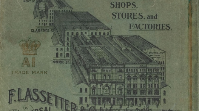 Lassetter's shops, stores and factories