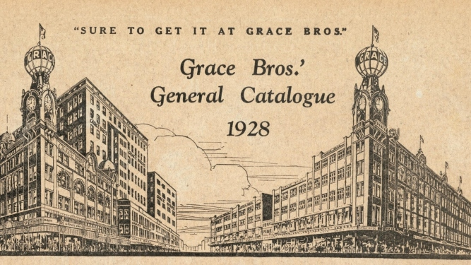 Grace Bros Broadway store, 1928