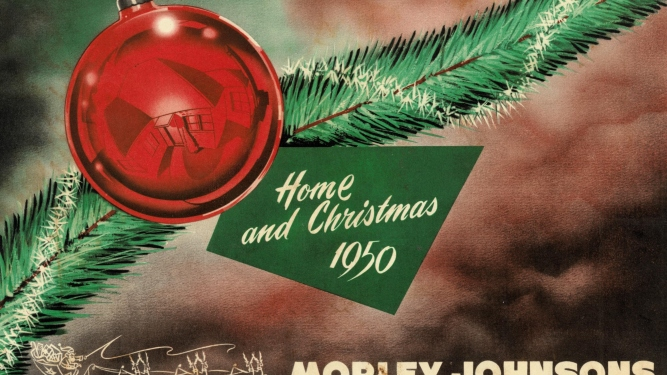 Morley Johnson's Christmas catalogue, 1950