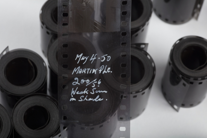 Length of film from Ikon Studio archive