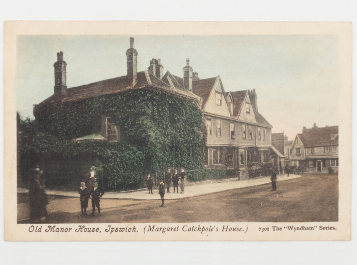 Old Manor House, Ipswich (Margaret Catchpole's House), c1904