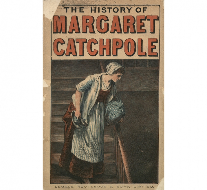 Cover of 'The History of Margaret Catchpole', published c1890.