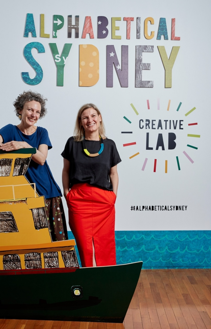 Author Hilary Bell and illustrator Antonia Pesenti.