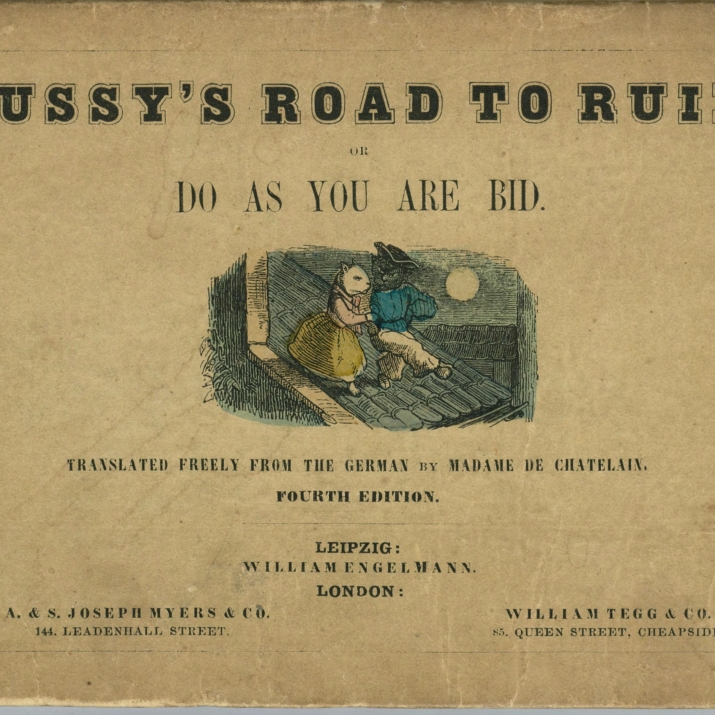 Pussy's Road to Ruin book 4th edition