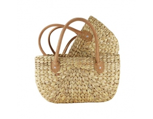 A picture of a natural weave basket