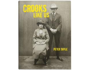 Crooks like us book cover with mugshot