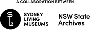 SLM and NSW State Archives Logo