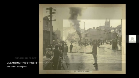 History Reflected: Behind closed doors - Plague images, quarantine areas, Sydney with Anna Cossu