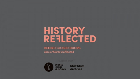History Reflected: Behind closed doors - Launch with Dr Penny Stannard