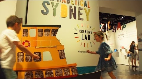 Alphabetical Sydney: Creative Lab now on at Museum of Sydney