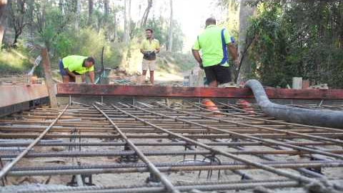 Rebuilding the Beulah Bridge