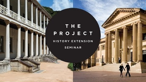 The Project: History Extension 2018 Keynote: Dr Ruth Balint