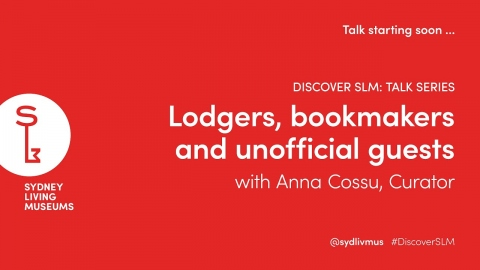 Lodgers, bookmakers, and unofficial guests with Anna Cossu
