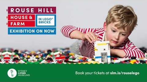 Rouse Hill House & Farm in LEGO® Bricks exhibition