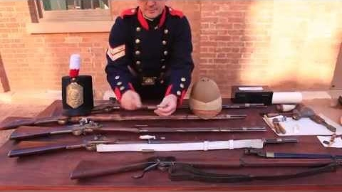 The firearms used in each of the three principal phases of the war against bushrangers.